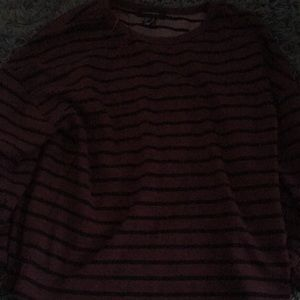 Red/Black Striped Shirt